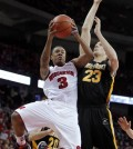 George Marshall scored as many as 20 points in a game for Wisconsin last season. (Photo: AP | Andy Manis)