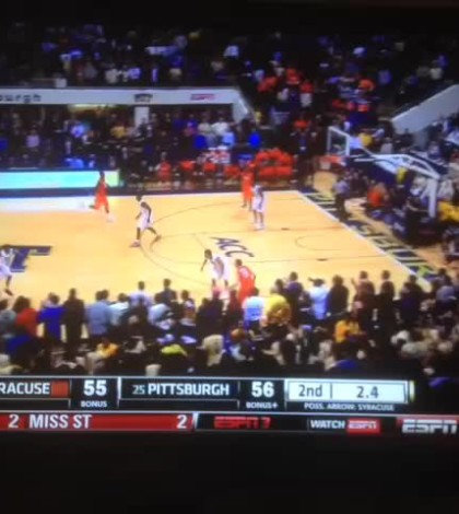WATCH: Tyler Ennis' Buzzer Beater Keeps No. 1 Syracuse Undefeated