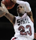 NMSU guard Daniel Mullings is the reigning WAC Player of the Year. (Photo: Albuquerque Journal)