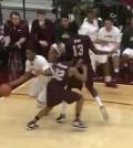 VIDEO: Loyola's Montel James posterizes ULM player in CBI finals