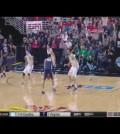 VIDEO: Ross Travis dunks on 7-footer A.J. Hammons